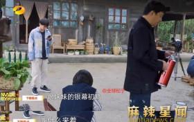 """黄磊说要打梁靖康 听闻""""女儿""""初吻被夺护女心切"""