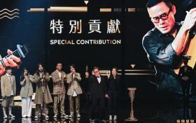 罗大佑获金曲奖特别贡献奖 希望和音乐人们共同进步