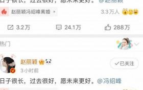 冯绍峰赵丽颖婚变真实原因 实际是因为这三点