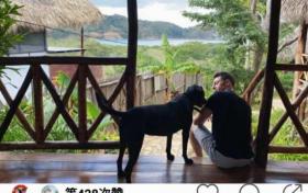 陈赫前妻许婧新年晒男友视角 穿露背裙赤脚漫步海滩身材养眼