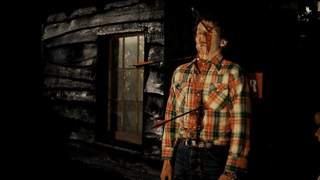 有指Peter Moore的殺人手法與電影中的傑森魔有相似的地方。(《十三號星期五》劇照)