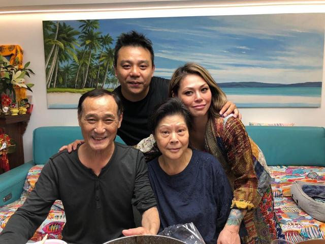 陈惠敏透过女儿陈映谕的Facebook澄清自己未曾向朋友借钱。 (陈映谕Facebook图片)