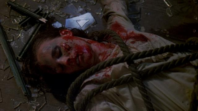 对于当时来说,电影都非常血腥暴力。 (《十三号星期五》剧照)